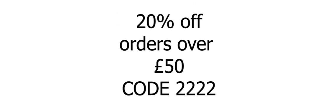 20% OFF Code