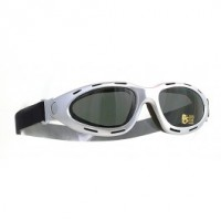 Halcyon Motorcycle Goggles Mk 5 Urban Silver Frames Smoked Lens