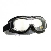 Halcyon Motorcycle Goggles Mk 5 Vision Over Glasses Clear Lens