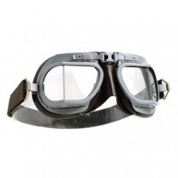 Halcyon Motorcycle Goggles Mk 8 Service Grey/Brown