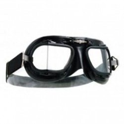 Halcyon Motorcycle Goggles Mk 9 Racing Black/Black
