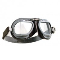 Halcyon Motorcycle Goggles Mk 9 Vented Grey/Brown