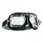Halcyon Motorcycle Goggles Mk 410 Deluxe (Curved Lens)
