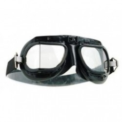 Halcyon Motorcycle Goggles Mk 8 Racing Black/Black