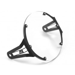 AltRider Clear Headlight Guard for the Triumph Scrambler