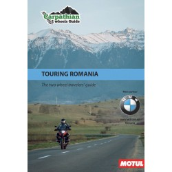 """Carpathian 2 Wheels Guide Motorcycle travel guides """"Touring Romania"""""""
