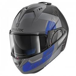 Shark Evo One 2 Flip Front & Open Face Helmet - Slasher Matt AKB