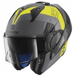 Shark Evo One 2 Flip Front & Open Face Helmet - Slasher Matt AYK