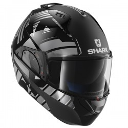 Shark Evo One 2 Flip Front & Open Face Helmet - Lithion Dual KUA