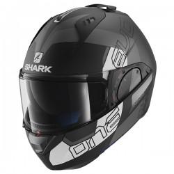 Shark Evo One 2 Flip Front & Open Face Helmet - Slasher Matt KAW