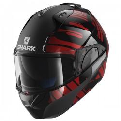 Shark Evo One 2 Flip Front & Open Face Helmet - Lithion Dual KUR