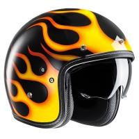 HJC FG-70s Aries Yellow Open Face Helmet