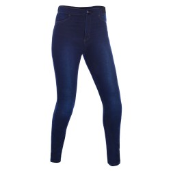 Oxford Super Jeggings - Blue - Regular Leg