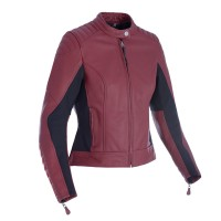 Oxford Beckley Ladies Leather Jacket - Russett