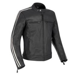Oxford Bladon Mens Leather Jacket - Black