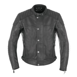 Oxford Hampton Mens Leather Jacket