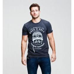 Red Torpedo Glemseck Rock 'N' Rev T Shirt Black Cotton