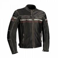 Segura Cruze Mens Leather Jacket Black