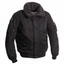 Segura Mitchell Textile Jacket Black