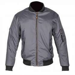 Spada Air Force One Mens Jacket Platinum