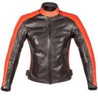 Spada Turismo Ladies Jacket Black/Autumn Sun