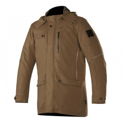 Alpinestars Gordon Drystar Overcoat Brown