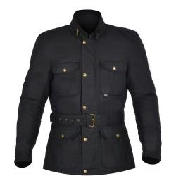 Oxford Bradwell Mens Wax Jacket - Onyx Black