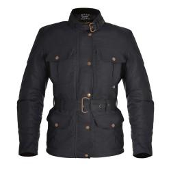 Oxford Bradwell Ladies Wax Jacket - Onyx Black