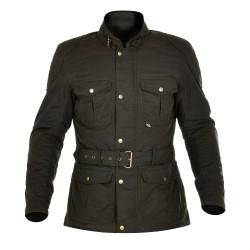 Oxford Bradwell Mens Wax Jacket - Rifle Green