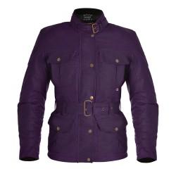 Oxford Bradwell Ladies Wax Jacket - Violet
