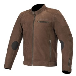 Alpinestars Warhorse Leather Jacket - Brown
